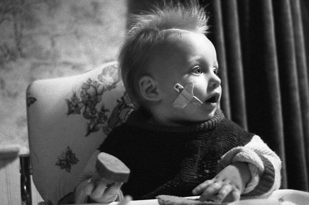 photo of punk baby