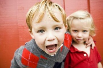 photo of little girl and boy