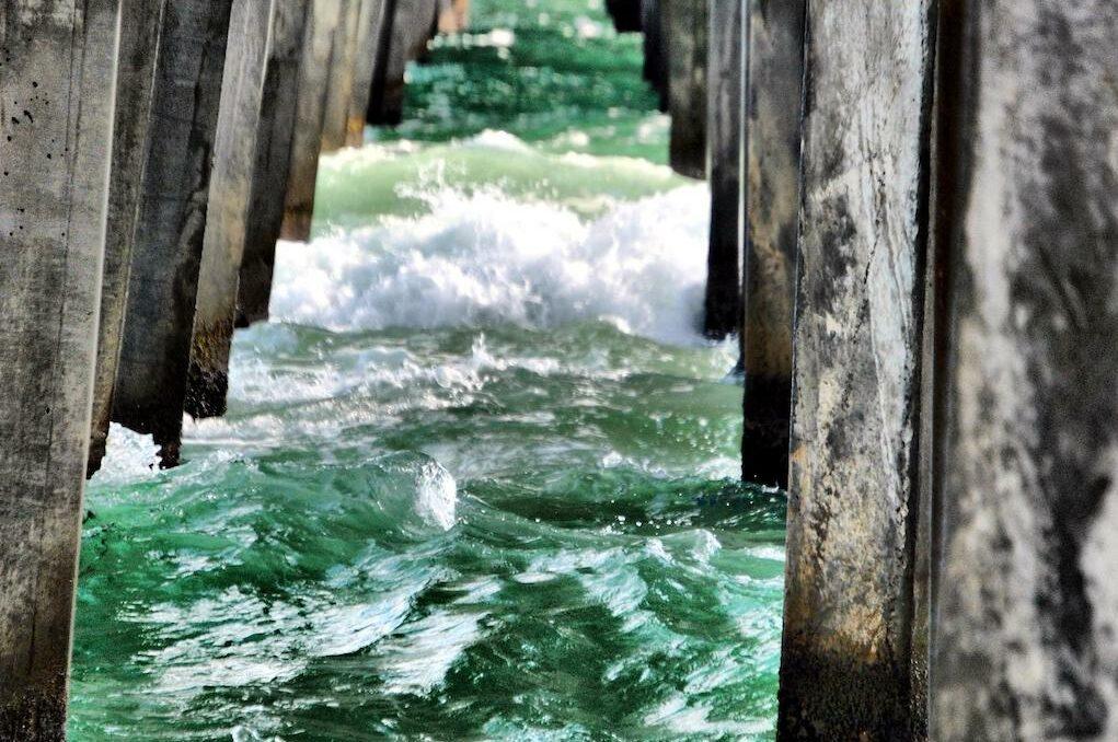 photo of pier at Panama City, Florida