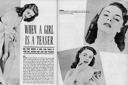 """copy of """"When A Girl Is A Teaser"""" Published in November 1952"""
