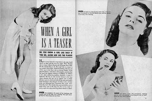 "copy of ""When A Girl Is A Teaser"" Published in November 1952"