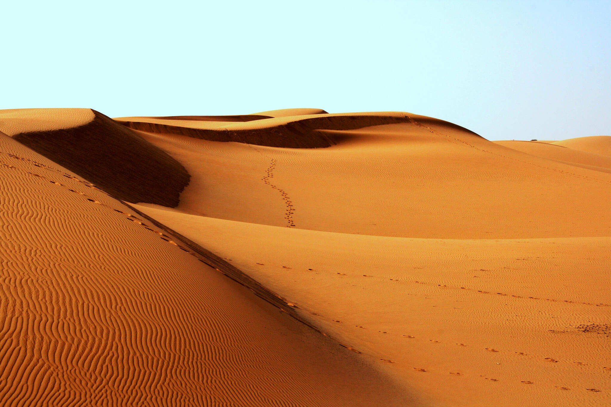 photo of a desert