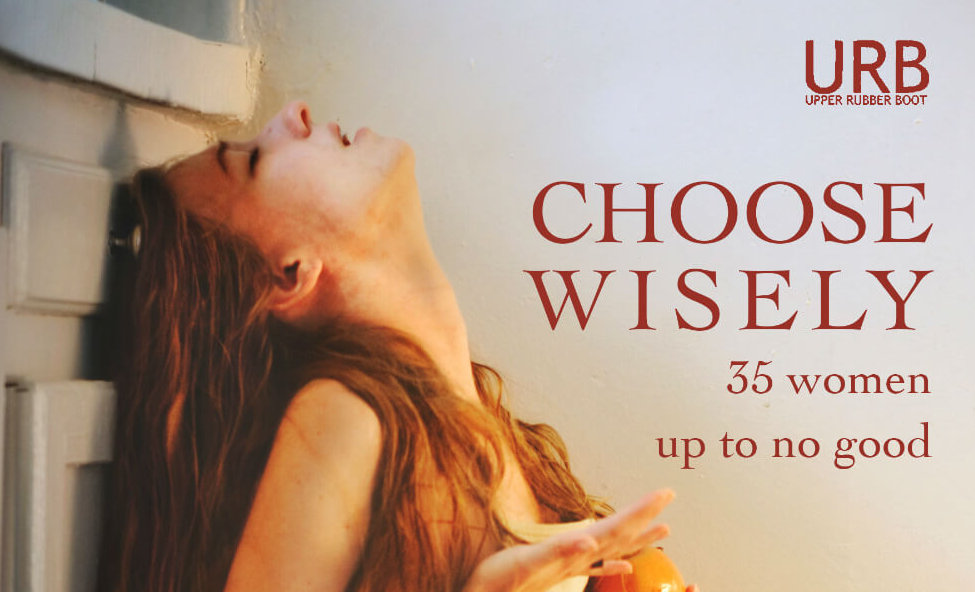 """book cover for """"Choose Wisely: 35 women up to no good"""""""