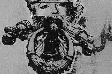 Marilyn Monroe door knocker