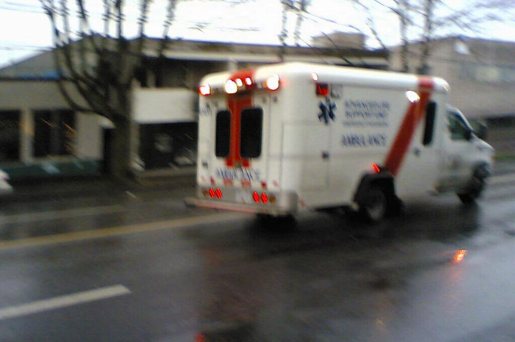 photo of an ambulance