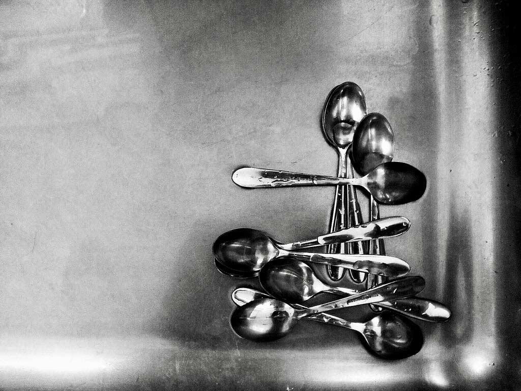 photo of teaspoons