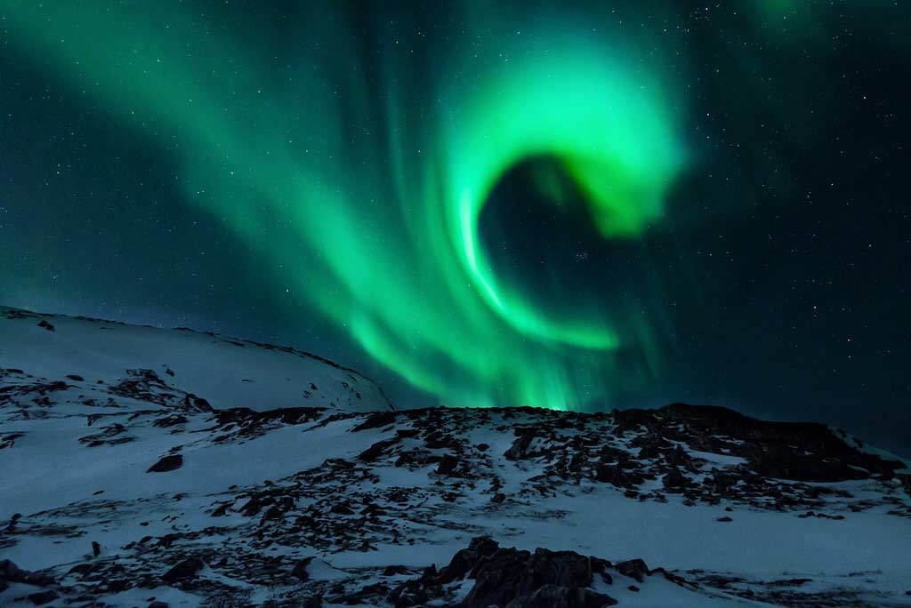 photo of aurora borealis