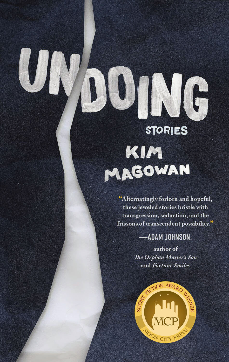 """book cover for """"Undoing"""" by author Kim Magowan"""