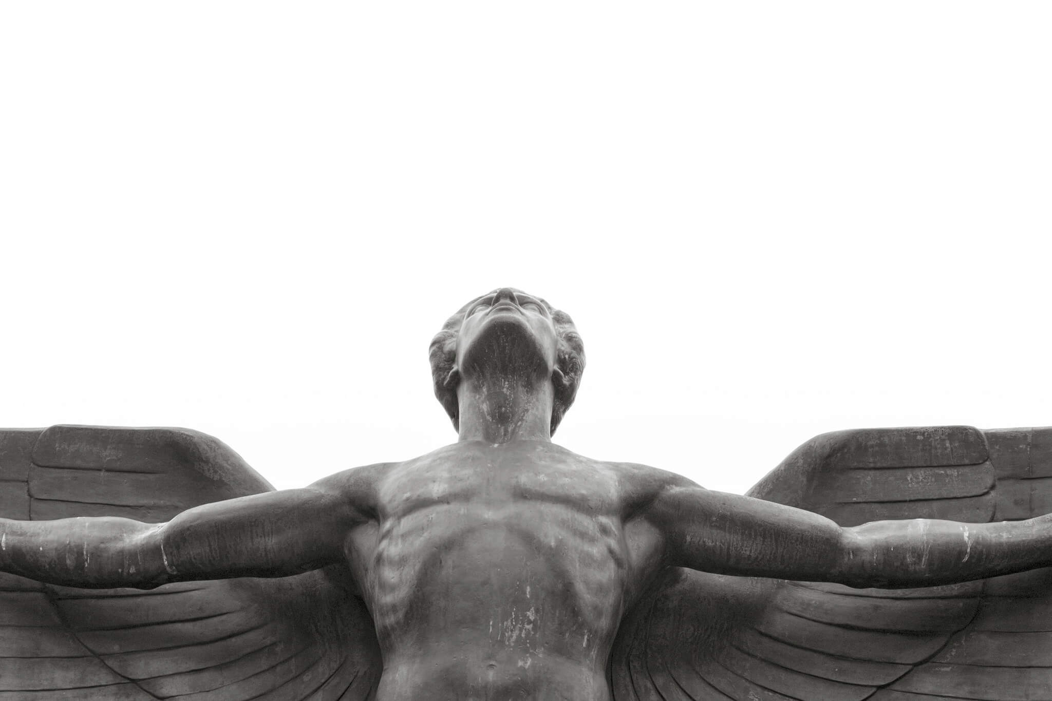 statue of Icarus