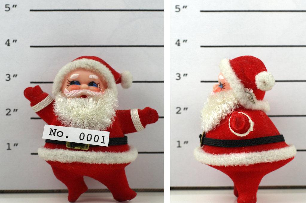 police photo of Santa