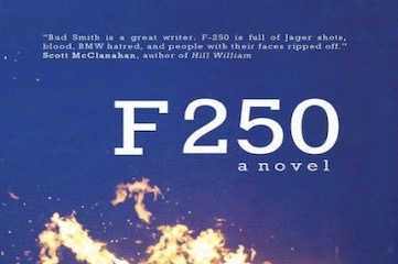 """cover of novel """"F 250"""" by Bud Smith"""