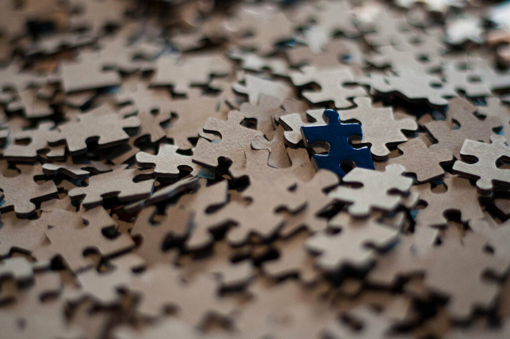 photo of a jigsaw puzzle